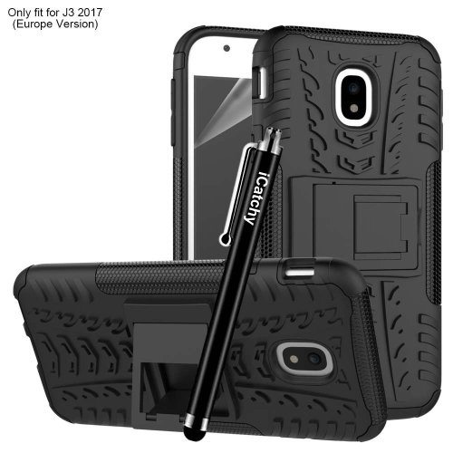 For Galaxy J3 2017 Armour Rugged Shockproof Case