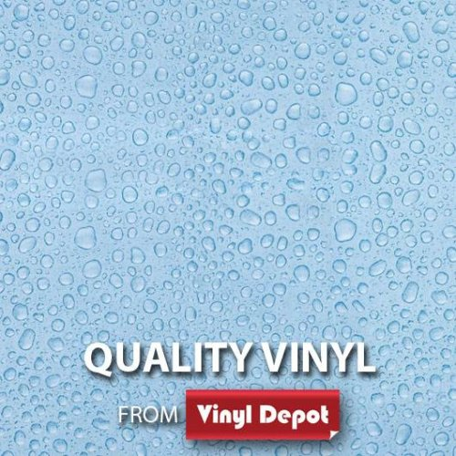 d-c-fix Sticky Decorative Self-Adhesive Vinyl Fablon Droplets 450mm/m