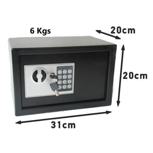 Digital Safe Box 6 kgs with Anti-Bouncing System