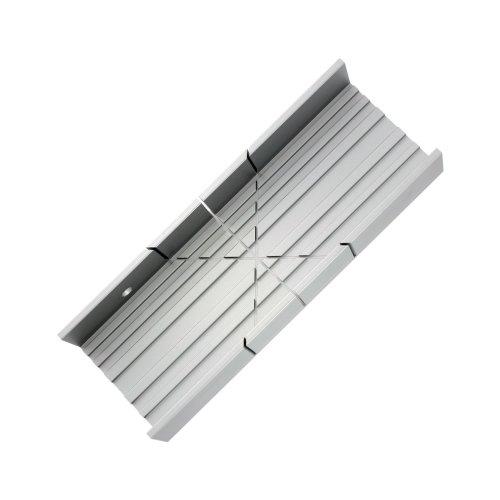 140mm Aluminium Mitre Box -  aluminium mitre box zona model craft psa35260 tool modelcraft