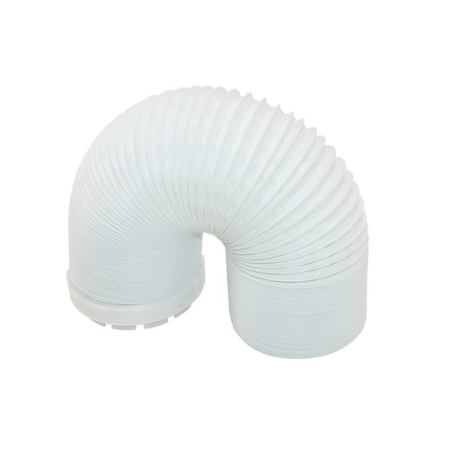 Creda 37285057CL Tumble Dryer Vent Hose and Adaptor 2m