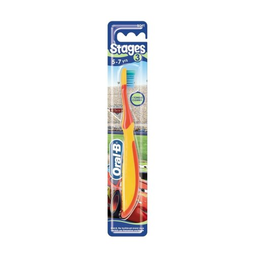Oral-B Toothbrush Stages 3 Soft Bristle For 5-7 Years