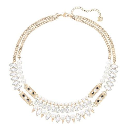 Swarovski Gangster Necklace - Large - White - 5252008