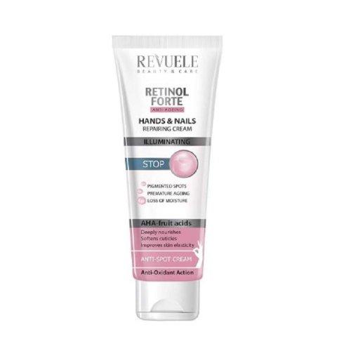 Revuele Retinol Forte Hand & Nail Cream with AHA Fruit Acid 100ml