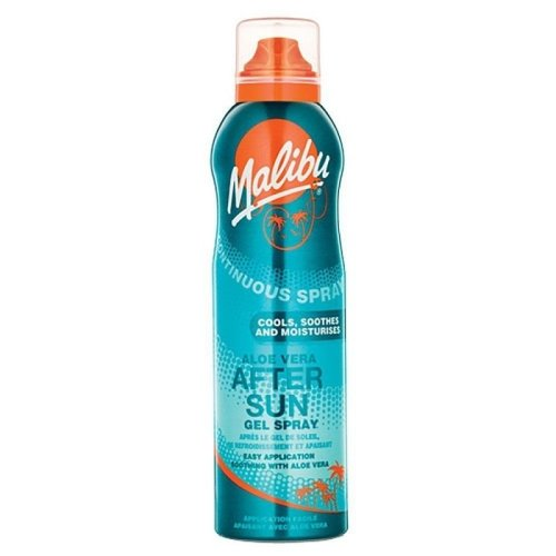 Malibu Continuous Spray Aloe Vera After Sun Gel Spray 175ml