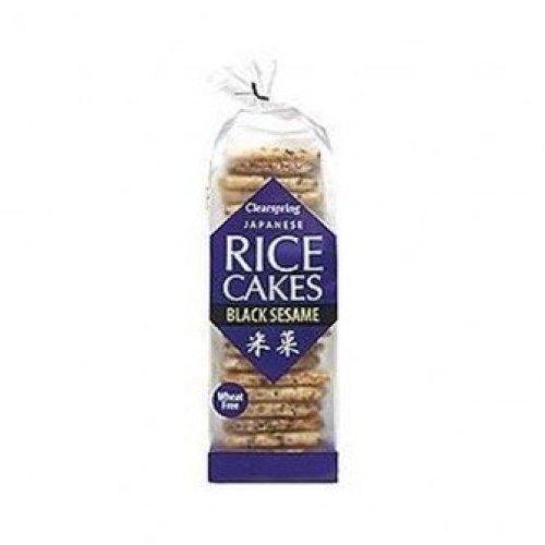 Clearspring - Rice Cakes Black Sesami 150g