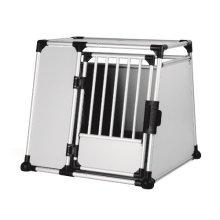 Trixie Aluminum Transport Box, Large/x-large - Dog Cage Aluminium Various Sizes -  trixie dog transport cage aluminium various sizes new
