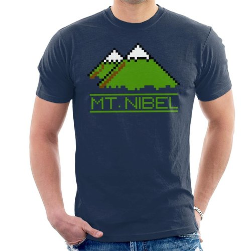 Pixel Mt Nibel Final Fantasy Men's T-Shirt
