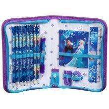 Frozen Folding Filled Zip Pencil Case