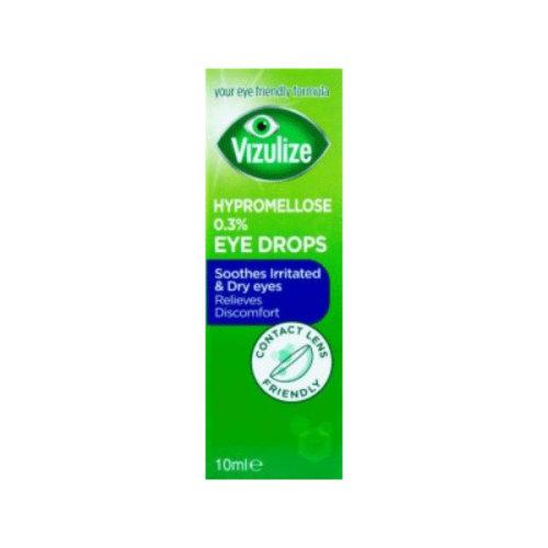 Vizulize Hypromellose 0.3% Eye Drops 10ml