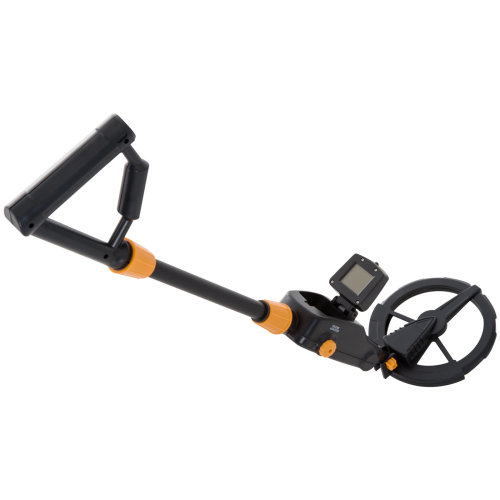 Outsunny Adjustable Water-Resistant LCD Metal Detector - Yellow/Black