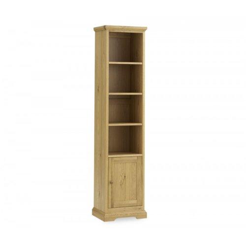 Bentley Designs Provence Oak Furniture Narrow Bookcase