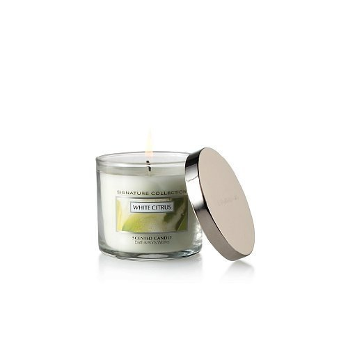 Bath & Body Works Signature Collection 4 oz. Filled Candle White Citrus