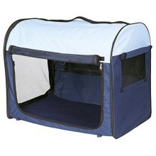 Trixie 39701 Pet Carrier 1 32 32 47cm Dark Blue / Beige - 47cm Sizes -  trixie 32 dark blue beige 39701 pet carrier 47 cm sizes