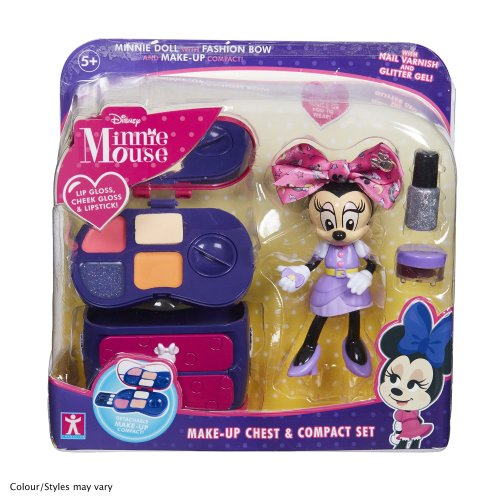 Minnie Mouse 06765 Make-Up Chest and Compact Set, Multicolour