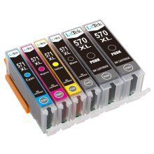 LxTek Compatible Ink Cartridges Replacement for Canon
