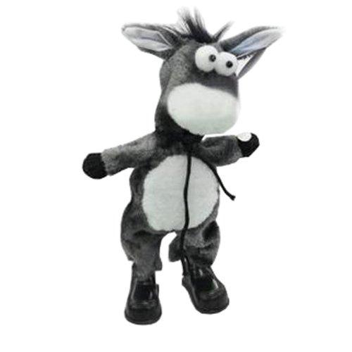 Funny Musical Dancing Electronic Stuffed Donkey Bobbleheads/Practical Jokes Toys