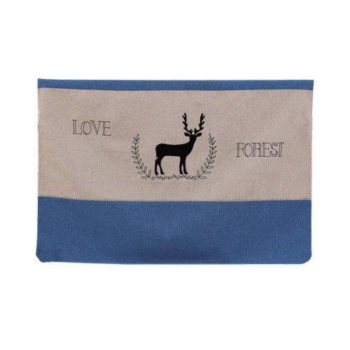 Home Creative 50-Inch TV Cloth Decorative Dustproof Cover, Deer