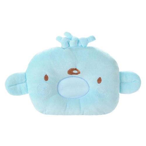 Adorable Soft Pillow For 0-1 Years Cotton Prevent Flat Head Pillows, E