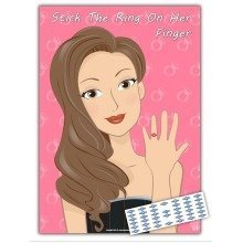 Hen Night Party Games- Stick the Ring on Her Finger - 20 Players