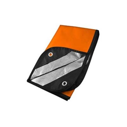 Ultimate Survival Technologies UST20-PGR0010-08 60 x 83 in. 2.0 Survival Blanket Reflective, Orange