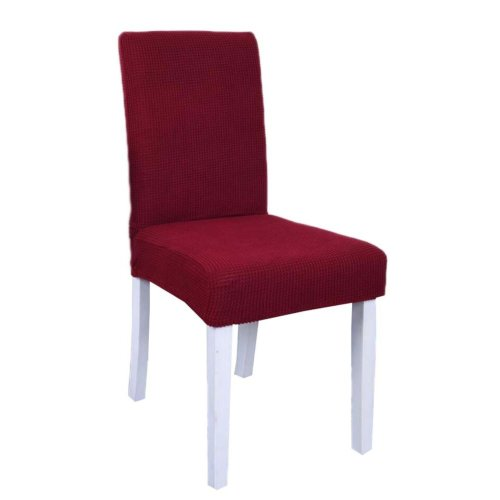 Spandex Fabric Stretch Dining Room Chair Slipcover - The Chair is not Included - 34