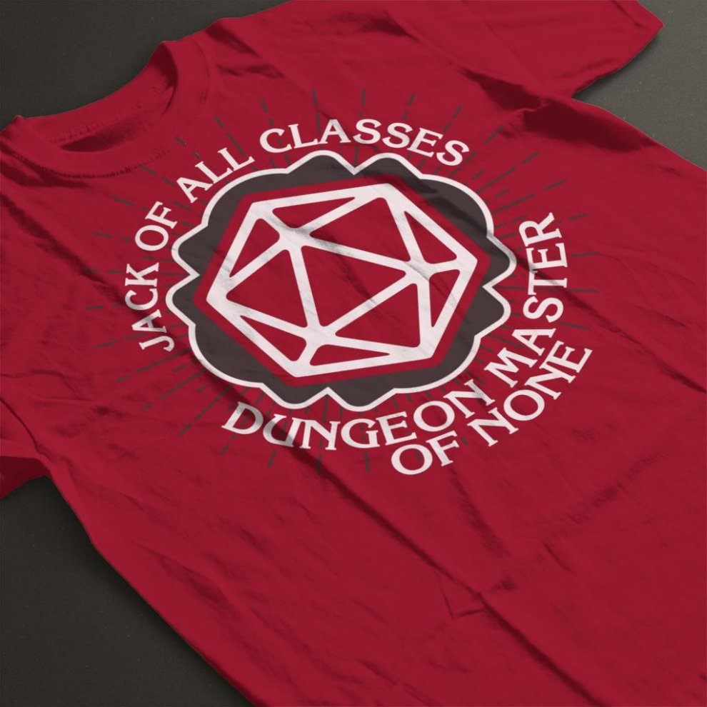 a432e90fd XX-Large) Dungeon Master Of None Men's T-Shirt on OnBuy