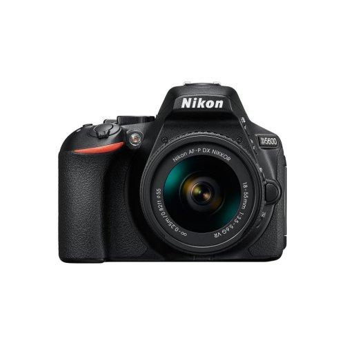 Nikon D5600 DSLR Camera & AF-P DX NIKKOR 18-55mm f/3.5-5.6G VR Lens Kit