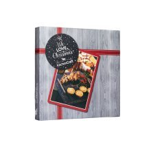We Love Christmas Slate Platter 30x30cm, Gift Boxed