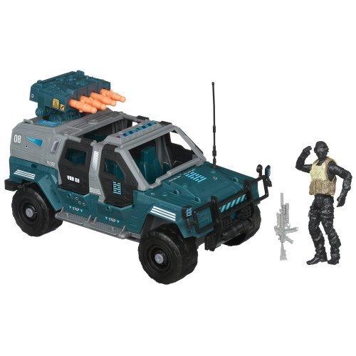 G.I. Joe Retaliation Ninja Combat Cruiser Vehicle with Night Fox Figure