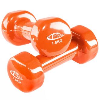 Dumbbells aerobic x2 2 x 1.5 kg