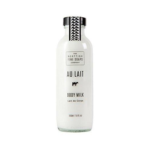 the scottish fine soaps company au lait body milk 220ml
