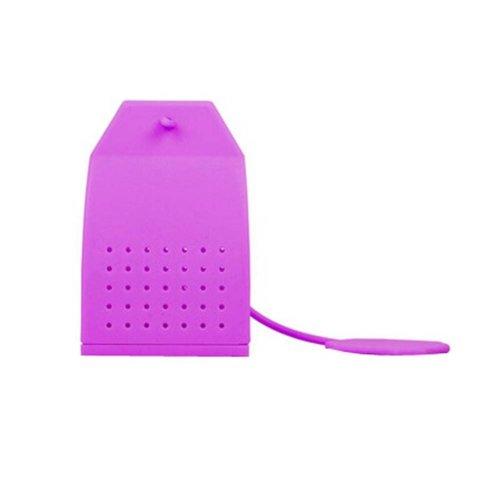 Silicone Tea Bag/Tea Mesh Strainer/Tea Infuser, Purple