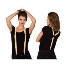 Braces Sequin Yellow
