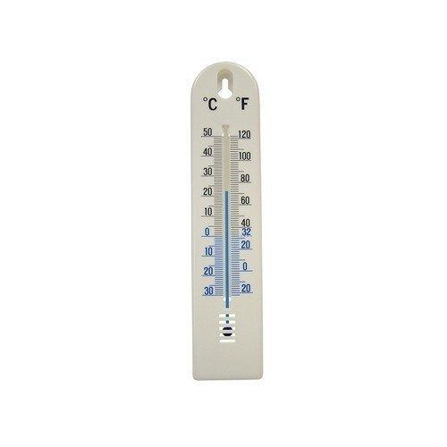 Faithfull FAITHPLASTIC Thermometer Wall Plastic 200mm