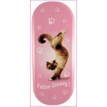 Feline Groovy Cat Glasses Case - Yoga Pets