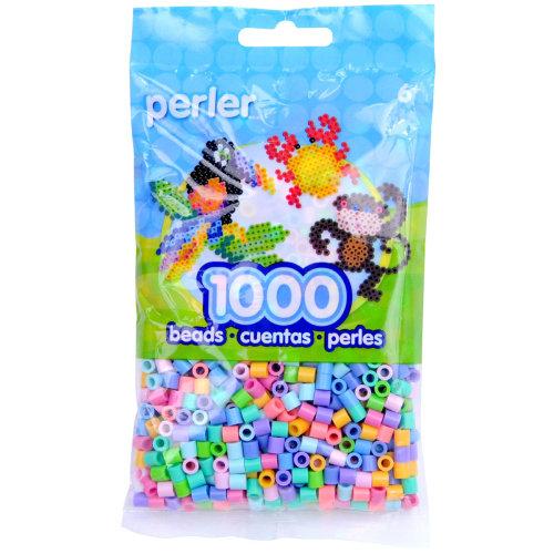 Perler Beads 1,000/Pkg-Pastel Mix