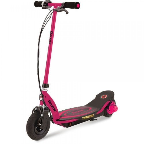 Razor Power Core E100 Kids Electric Scooter Calliper Brake 24V RAZPOCO-E100S Red