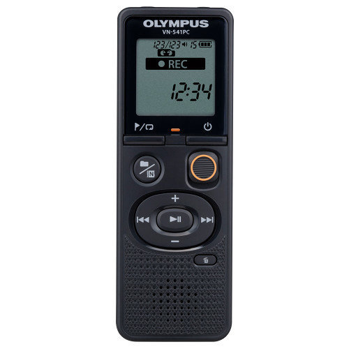 Olympus VN-541PC + CS 131 Internal memory Black dictaphone
