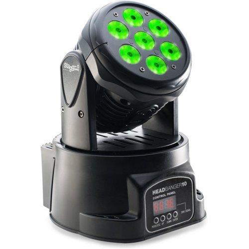 Stagg LED Moving Headbanger 10 Head Wash Light (SLIMHWHB100)