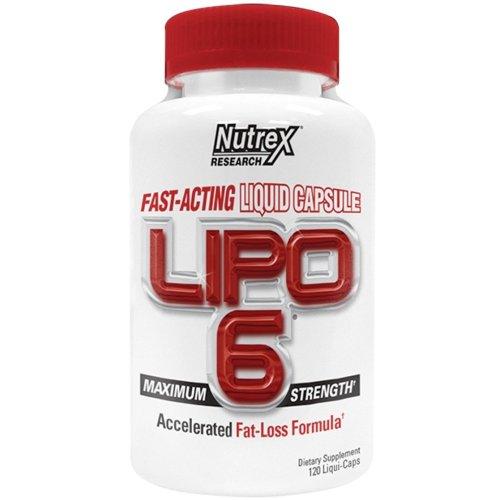 Nutrex  Lipo-6 Maximum Strength - 120 liqui caps