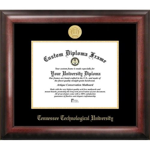 Tennessee Tech  University Gold Embossed Diploma Frame