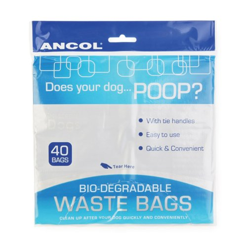 Bio-degradable Waste Bags 40pc (Pack of 12)