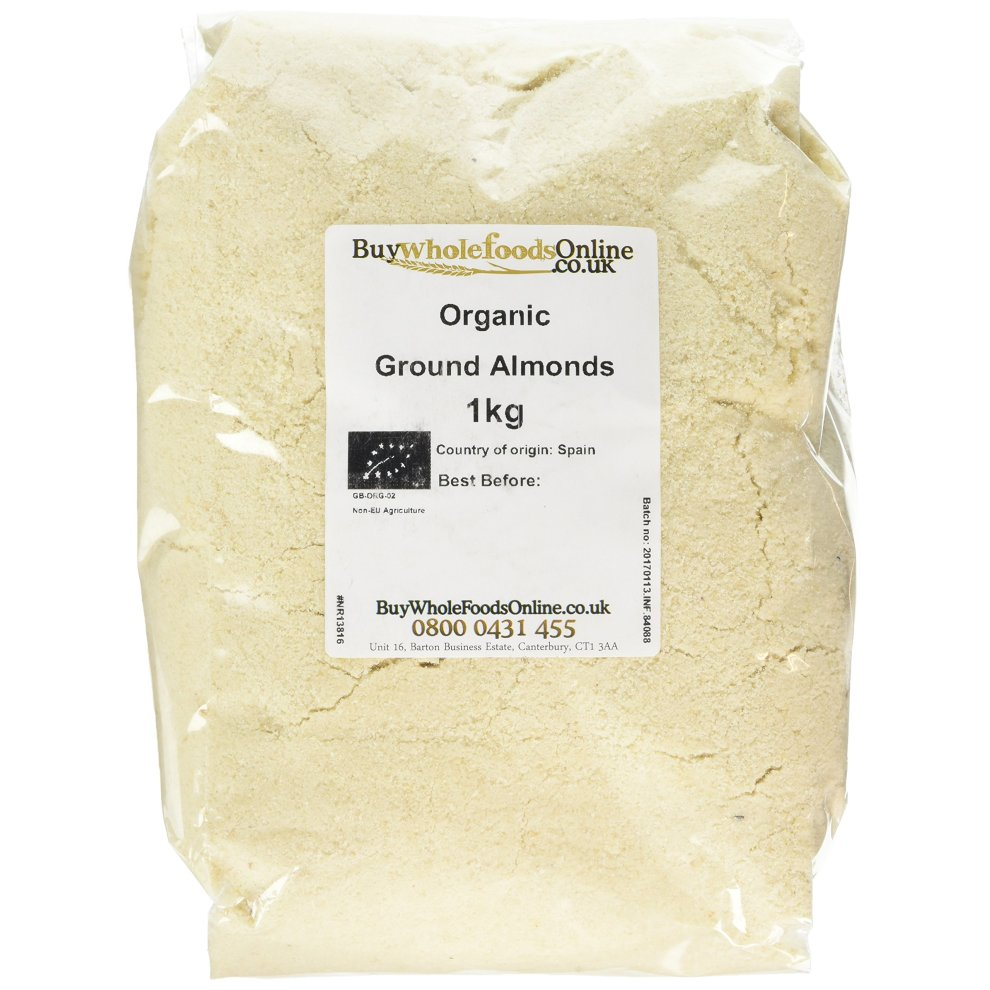 Buy Whole Foods Organic Ground Almonds 1 Kg