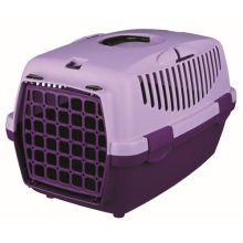 Trixie Pet Carrier For Cats Small Dogs Or Rabbits - Violet/lilac - Violetlilac -  trixie pet carrier cats small dogs rabbits violetlilac