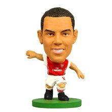 Soccerstarz Arsenal Fc Theo Walcott Home Kit - (2015) Football Figures Figurines - Soccerstarz Arsenal Theo Walcott Home Kit (2015) Football Figures