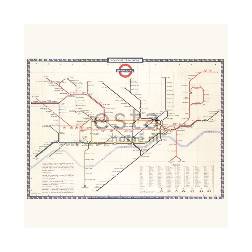 Subway Map Paper Products.Non Woven Photowallxl London Tube Subway Map