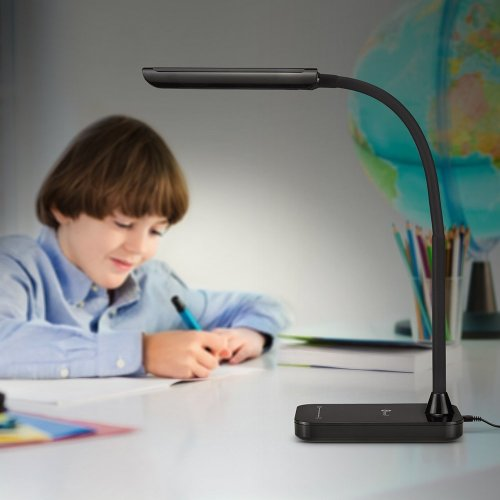 Desk Lamp, TaoTronics LED Dimmable Touch Eye-Care light