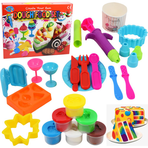 Create Your Own Dough Food Play Set