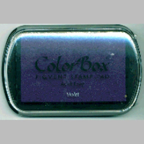 ColorBox Pigment Ink Pad-Violet
